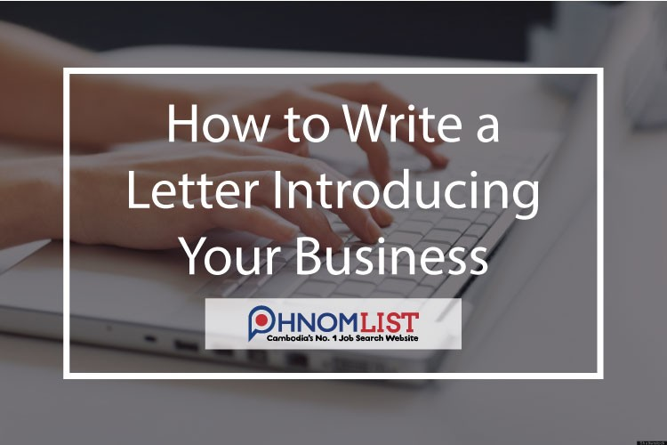 How to write a letter introducing your business jobsnomlist whether youre new in town or just trying to reach a new audience a letter of introduction can help you personally connect with prospective customers your spiritdancerdesigns Choice Image